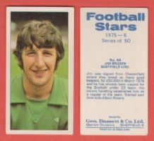 Sheffield United Jim Brown 48 (BS)